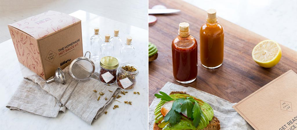 Homemade Hot Sauce Kit | By Chili Lab And W&P Design