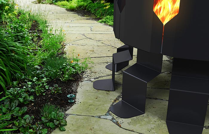 Legs Of Ion Fire Pit By Decorpro