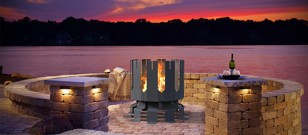 Ion Fire Pit By Decorpro