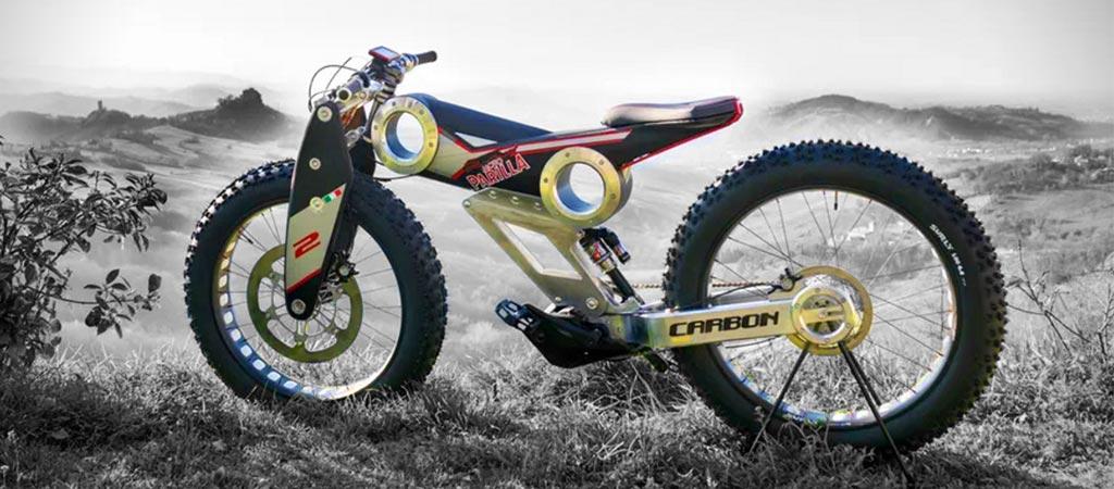Moto Parilla Carbon SUV E-bike
