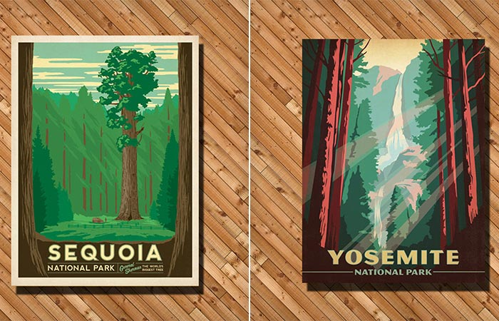National Parks Posters