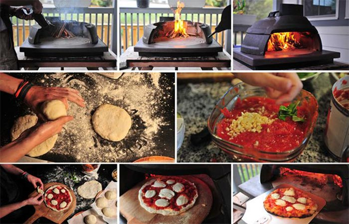 Making A Pizza In The Relic Oven