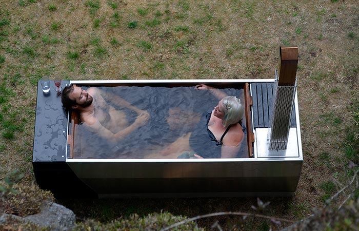 Soak Wood Fired Hot Tub