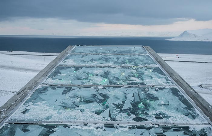 The Top Of Svalbard Global Seed Vault