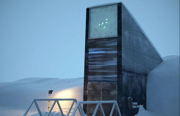 The Entrance Svalbard Global Seed Vault