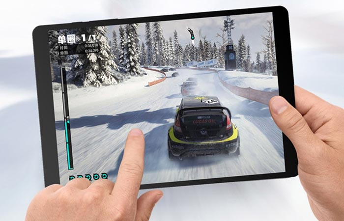 A game being played on the Teclast X89 Kindow