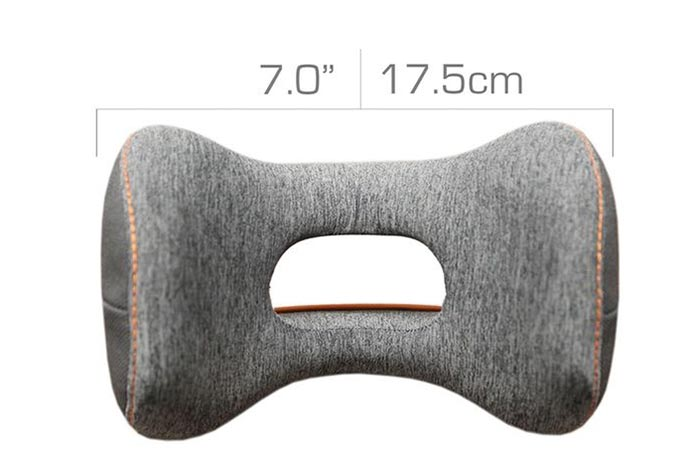 The Dimensions Of The Bullrest Travel Pillow