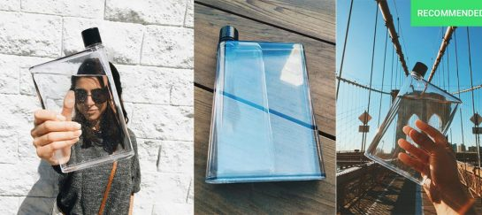 The Flat Bottle | A Water Bottle That's Changing Lives