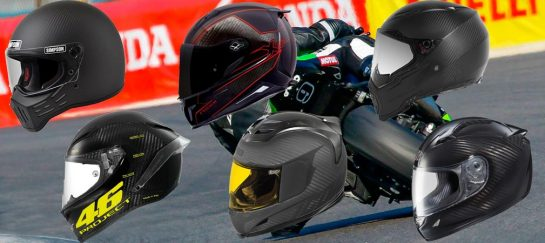 6 Carbon Fiber Motorcycle Helmets Available On The Market