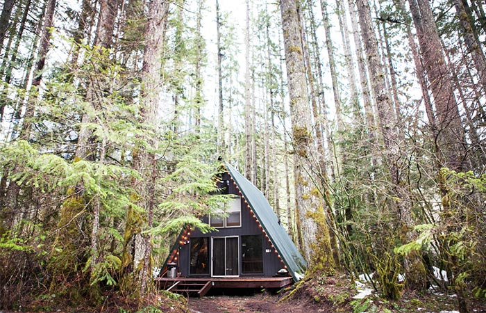 Tye Haus - A-Frame Cabin In The Woods