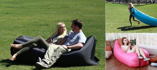 Wasing | Inflatable Lounger With Added Pockets