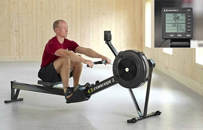 The Concept 2 Model D with the PM5