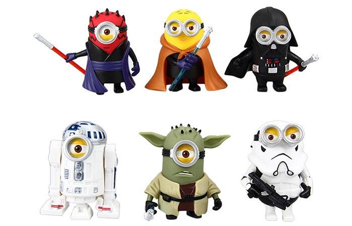Minion Star Wars figurines
