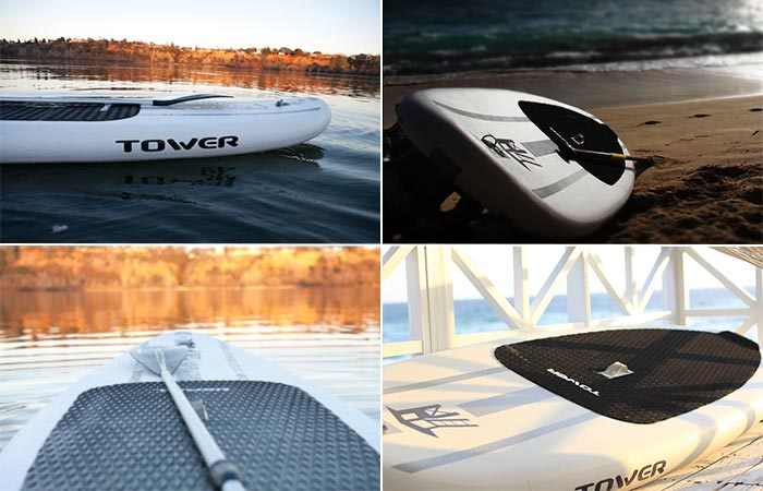 Four Images Of Adventurer Inflatable SUP