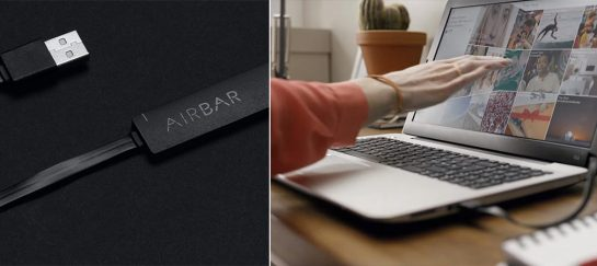 AirBar | Turn Any Computer Screen Into A Touch Screen