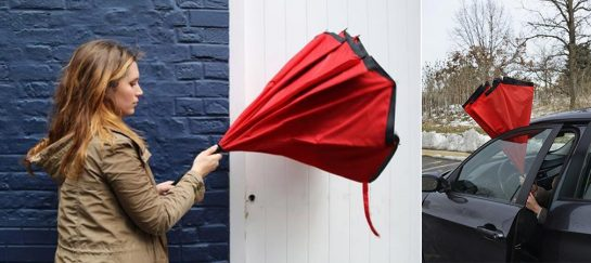 Anbrella | A Revolutionary Inside-Out Umbrella