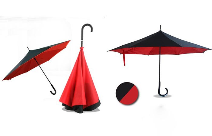 Two different shots of the Anbrella