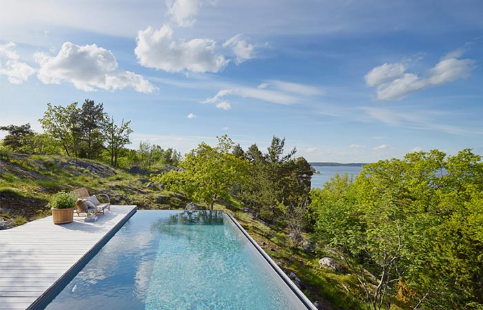 Aspvik House Infinity Pool Top Floor