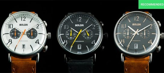 BOLDR Watches | Immaculate Timepieces For Everyday Wear