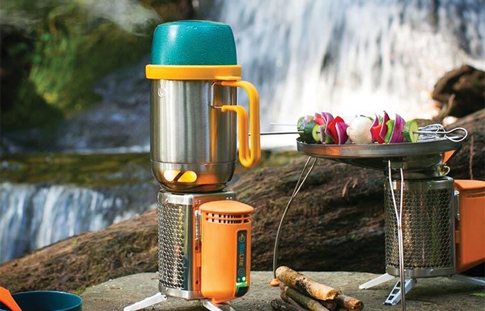 BioLite KettlePot Being Used Outdoors