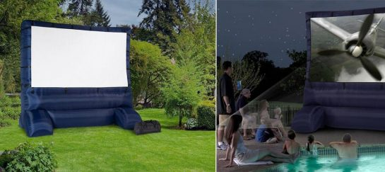 Gemmy 12 Ft Inflatable Deluxe Movie Screen