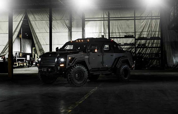 Side view of Gurkha RPV