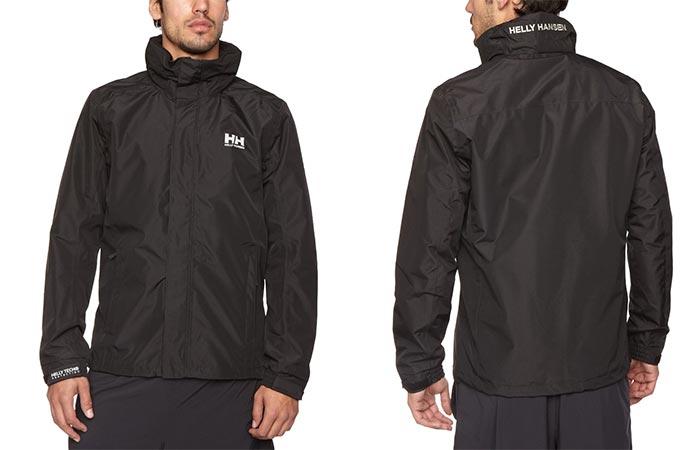 Black Helly Hansen Dubliner Rain Jacket