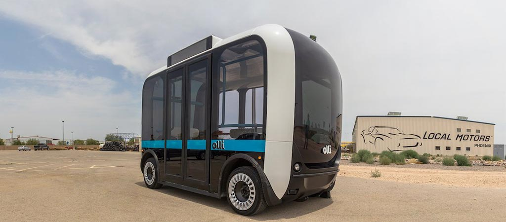 Olli | A Self-Driving Vehicle