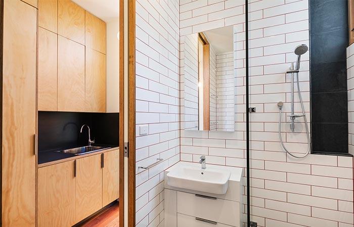 Bathroom In Light House