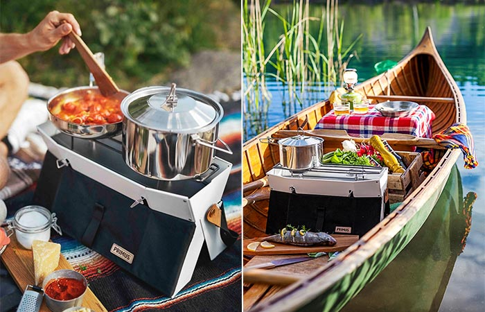 Two Images Of Primus Onja Stove