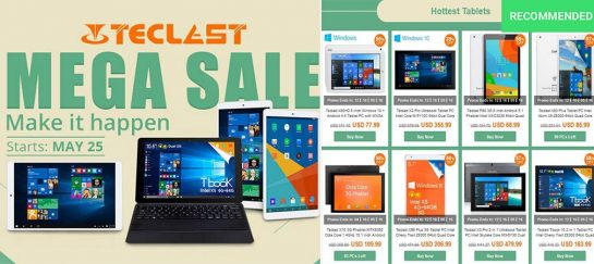 Teclast 2016 Limited Duration Brand Sale