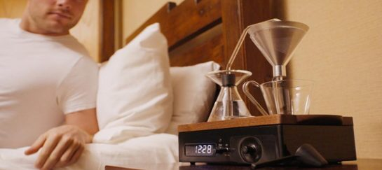 The Barisieur | An Alarm Clock That Makes You Coffee