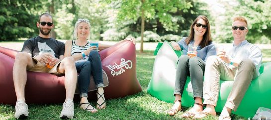 WindPouch | Inflatable Polyurethan-coated Sofa/Lounger/Hammock