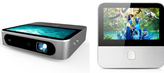 "ZTE Spro 2 | An Android Projector With A 5"" LCD Touch Display"