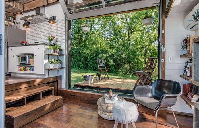 Alpha Tiny House Living Area