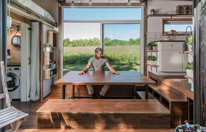 Alpha Tiny House Dining Table