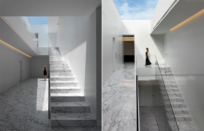 Aluminum House Staircase