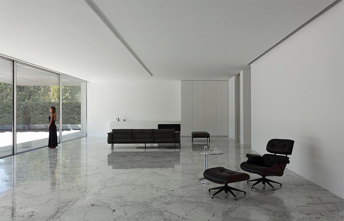 Aluminum House Living Room