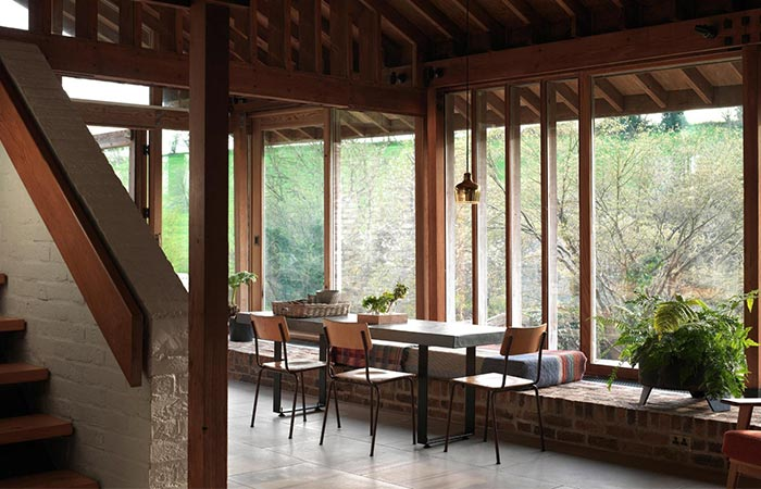 Ansty Plum House Dining Area