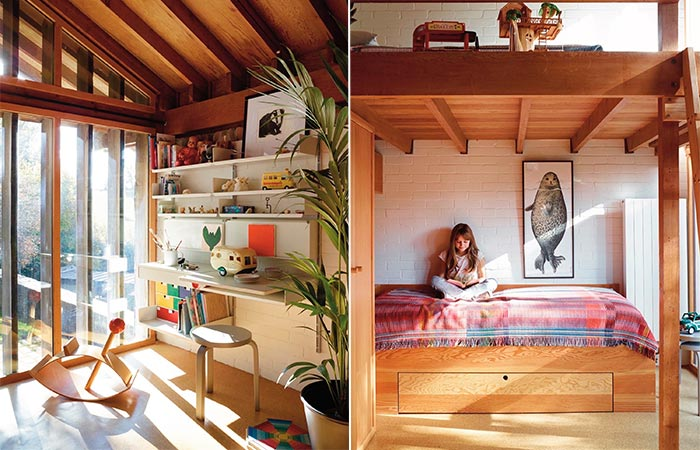 Ansty Plum House Kids Room