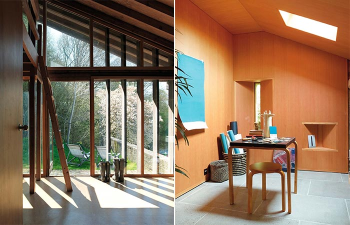 Two Images Of Ansty Plum House Interior