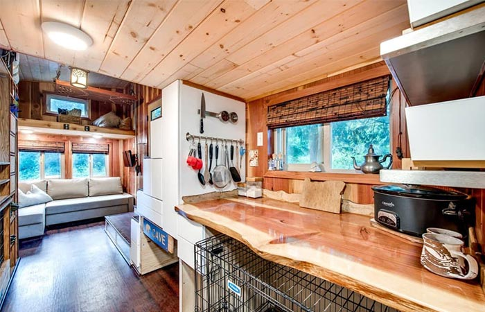 Basecamp Tiny Homes Kitchen Area