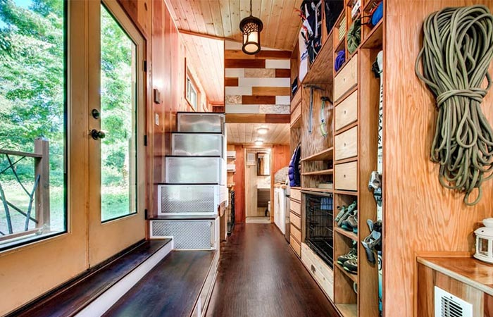 Basecamp Tiny Homes Staircase