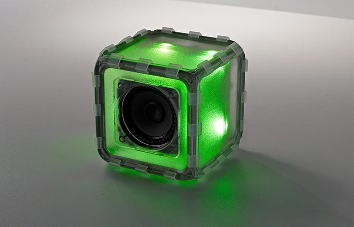 Green BoseBuild Cube