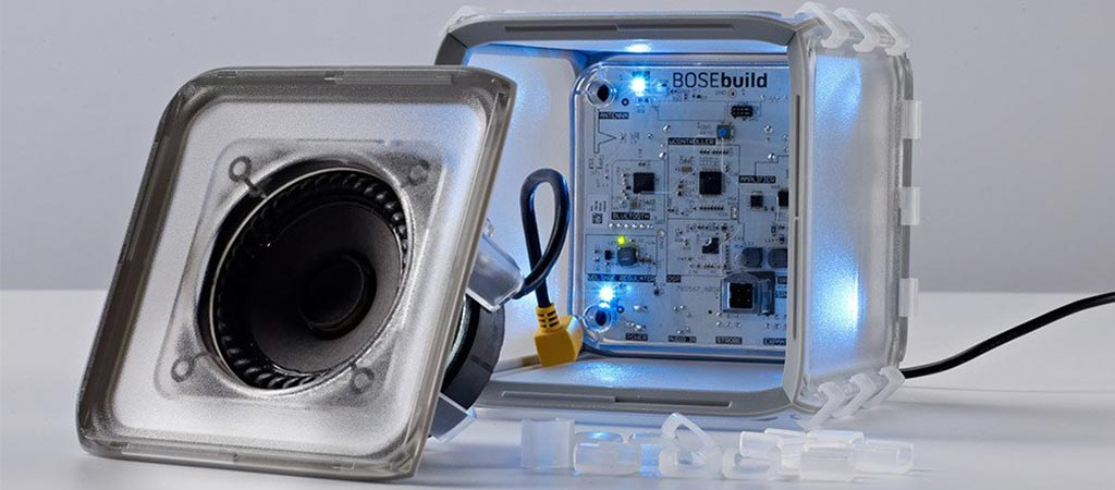 BoseBuild | A Build-it-yourself Speaker Cube