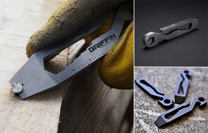 Three Images Of Griffin Pocket Multi Tool