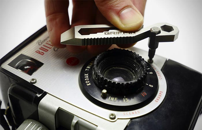 Fixing A Camera With Griffin Pocket Multi Tool