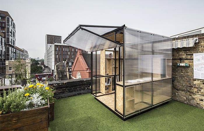 Minima Moralia Pop-up Studio With An Opened Side