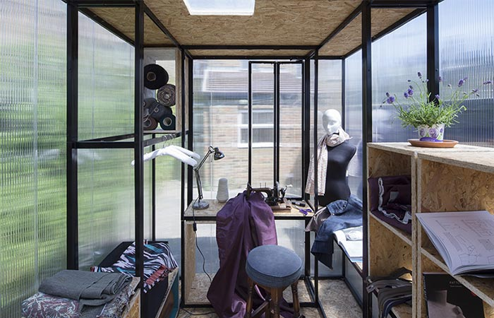 Minima Moralia Pop-up Studio Used For Fashion Designers