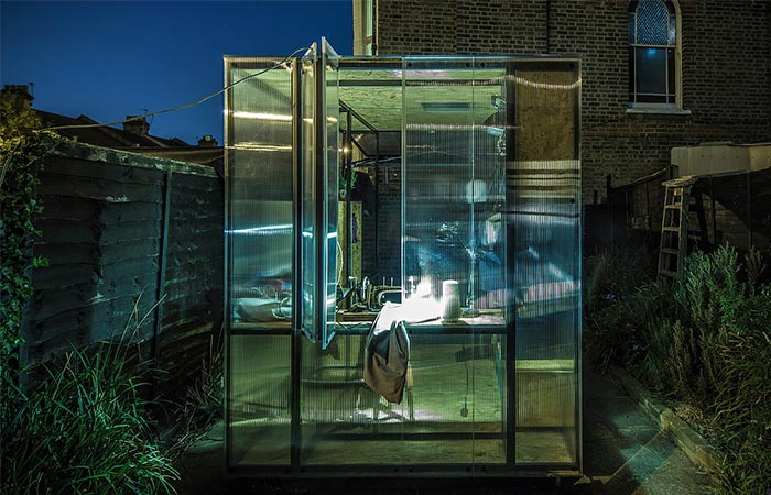 Minima Moralia Pop-up Studio At Night